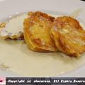 写真: ブルーチーズのフレンチトースト