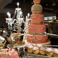 写真: ピンクなケーキ
