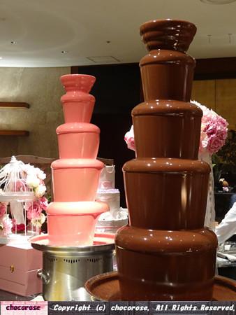 憧れのチョコレートファウンテン