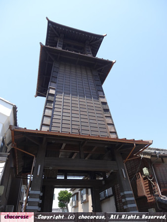 川越の時計台