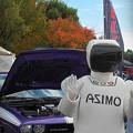 ASIMOとアメ車