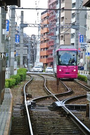 早稲田駅発入線