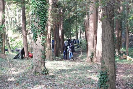 2014.11.04 瀬谷市民の森 学生が映画撮影