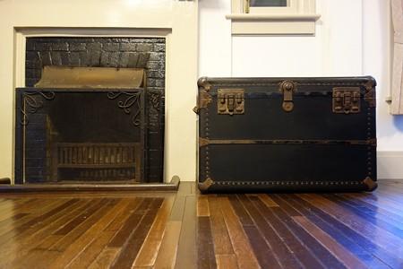2014.11.10 横浜山手 山手234番館 暖炉と鞄