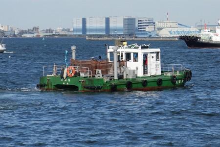 2014.11.10 山下公園 港湾作業船