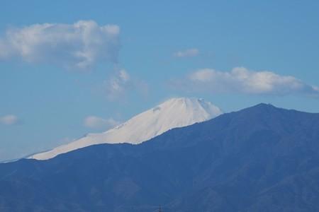 2014.12.22 駅前 富士山
