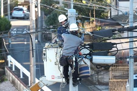 2014.12.23 窓景 通信工事