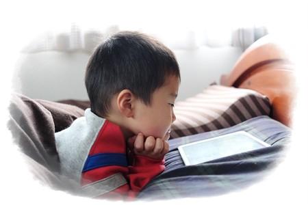 2014.12.29 寝室 iPad時間の王子
