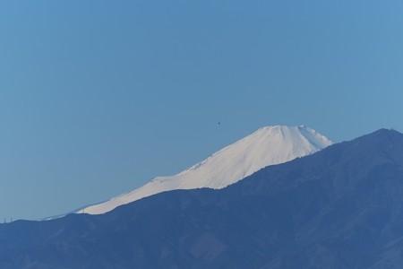 2015.01.12 駅前 富士山