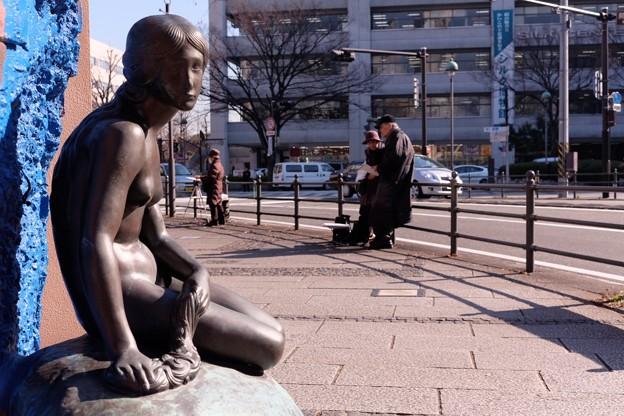 2015.01.14 大桟橋入り口 スカンディア・ガーデン 人魚姫の像