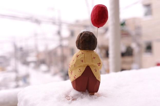 2015.01.30 ベランダ 雪
