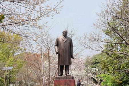 2017.04.06 北の丸公園 吉田茂像 船越保武 1981