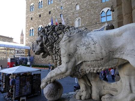 2017.05.16 イタリア フィレンツェ 「獅子像」