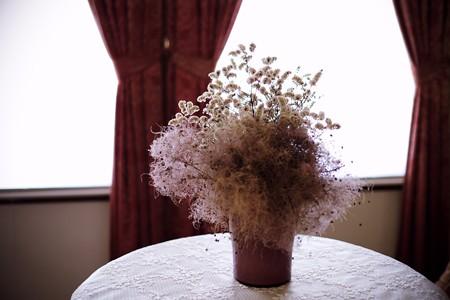 2017.09.29 山手 外交官の家 寝室 乾いた花