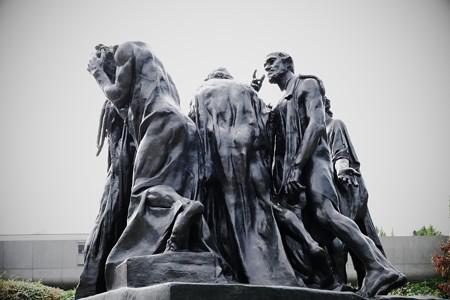 2017.10.24 国立西洋美術館 カレーの市民 ロダン