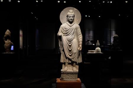 2017.10.24 東京国立博物館 如来立像 ガンダーラ TC-733