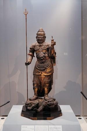 2017.10.24 東京国立博物館 毘沙門天立像 C-1870