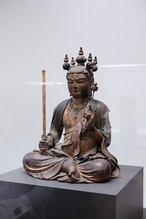 20172017.10.24 東京国立博物館 文殊菩薩座像 C-1854-1