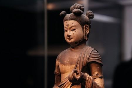 20172017.10.24 東京国立博物館 文殊菩薩立像 顔 C-23