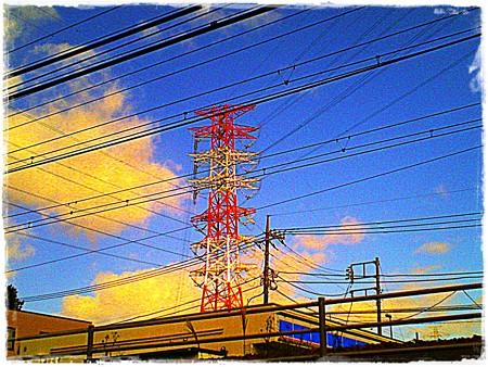 2017.11.19 隣町 電線