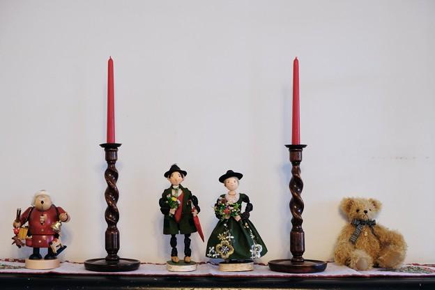 2017.12.12 山手西洋館 ブラフ18番館 世界のクリスマス ドイツ 暖炉