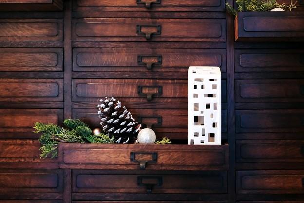 2017.12.12 山手西洋館 エリスマン邸 世界のクリスマス デンマーク 楽譜入れ