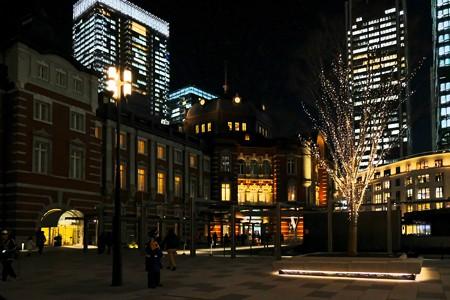 2017.12.19 東京駅 新橋へ向かう改札口