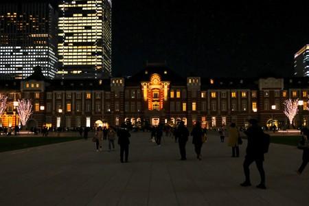 2017.12.19 東京駅 夜景