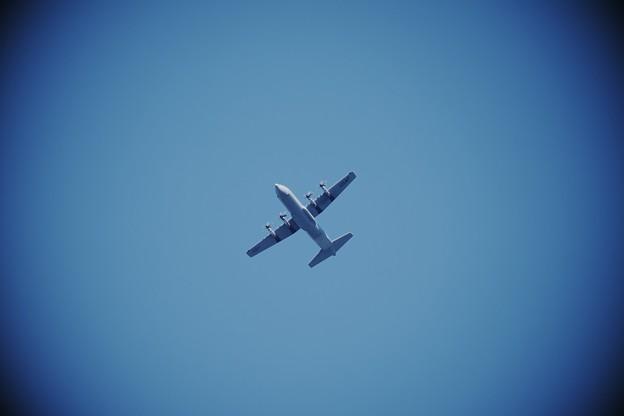 2018.01.12 追分市民の森 Lockheed Martin C-130