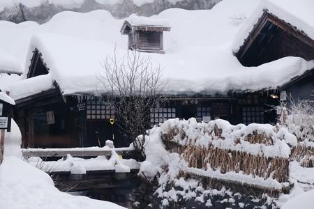 2018.01.22 鶴の湯 白湯黒湯