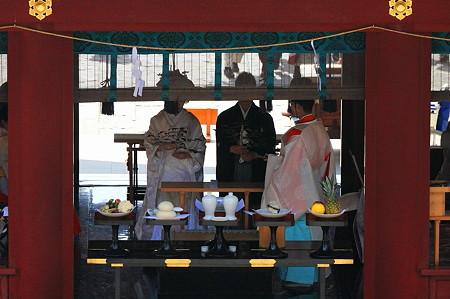 2010.03.19 鎌倉八幡宮 玉串奉り