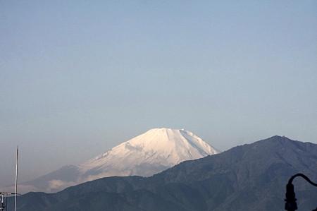 2010.12.15 散歩道 富士山