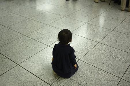 2011.05.18 東京駅 姫休息