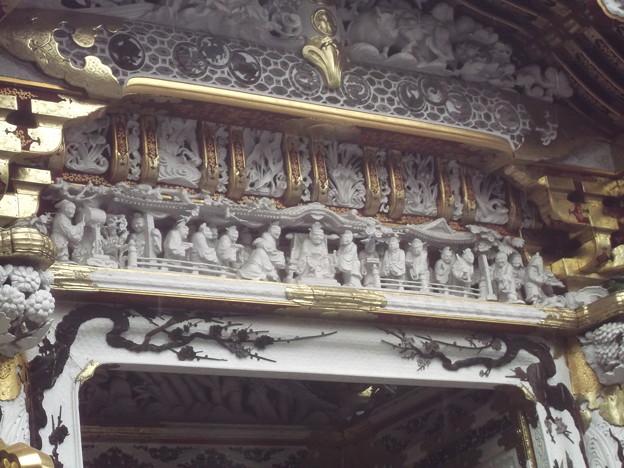 陽明門の彫刻
