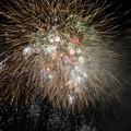 流しver-打ち上げ花火下から見てみた-石狩まるごとフェスターニトリ花火20170826 (6)