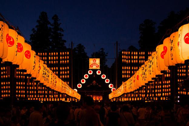 多賀大社の万灯祭