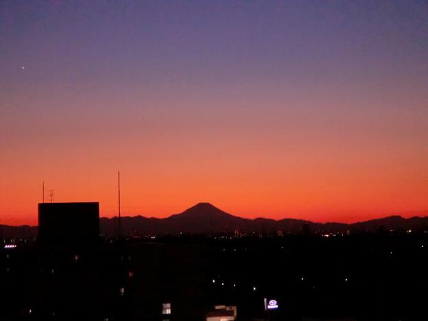 Photos: 富士のシルエット?