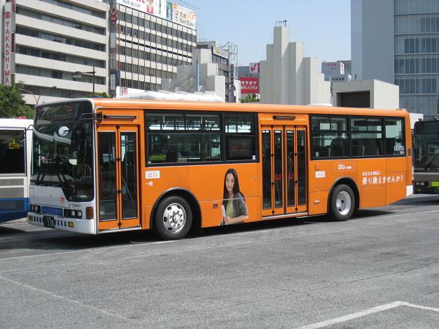 岡山電気軌道 三菱ふそうエアロスター