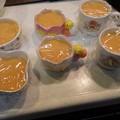 柿プリン作りました