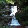 写真: 芸北の風景(深山の滝)