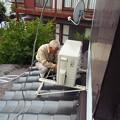 Photos: 電気1707240026エアコン設置横倉豊