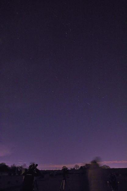 星を観る会に参加して