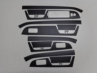 レヴォーグ パワーウインドウスイッチパネル・グリップ D型 カーボンシート