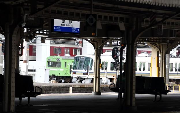 京都駅在来線