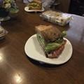 Photos: 美味しいサンドイッチをご馳走になりました