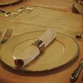 写真: 西洋館の夏の食卓 *a