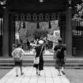 三嶋大社夏祭り、準備中 2017-a