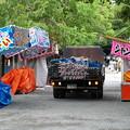 三嶋大社夏祭り、準備中 2017-b