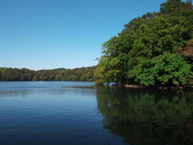 一碧湖の秋 *a