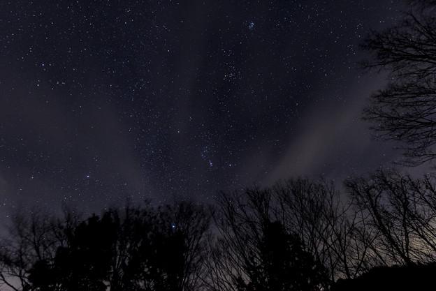 写真: 冬の宇宙